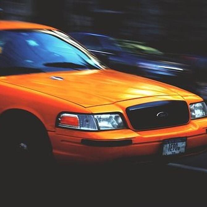 ¿Qué combustibles usan los taxis?