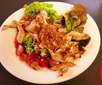 Tostas: Carta de Gastrobar Gara