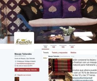 Kwantida Thai Massage & Spa en las Redes Sociales