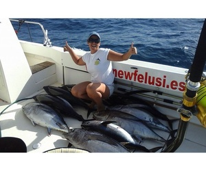 Pesca de atunes en Gran Canaria