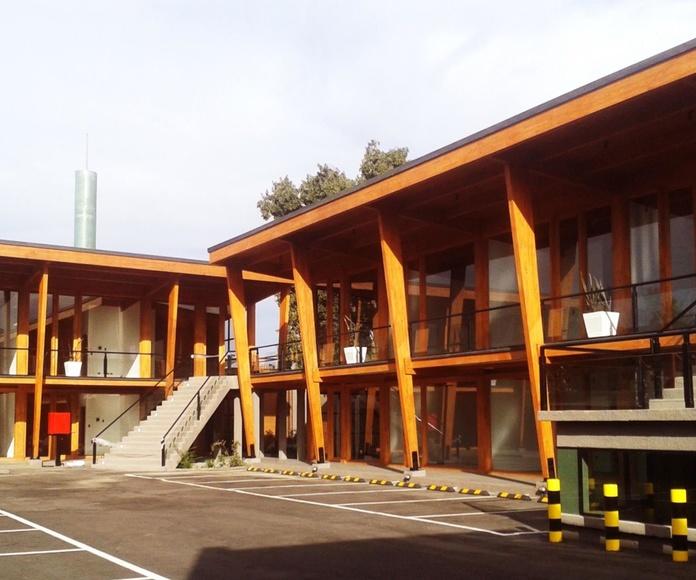 Construcción Madera Laminada