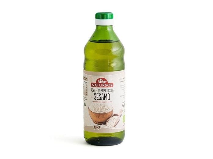 Aceite de sesamo y lino, NATURSOY.: Catálogo de La Despensa Ecológica