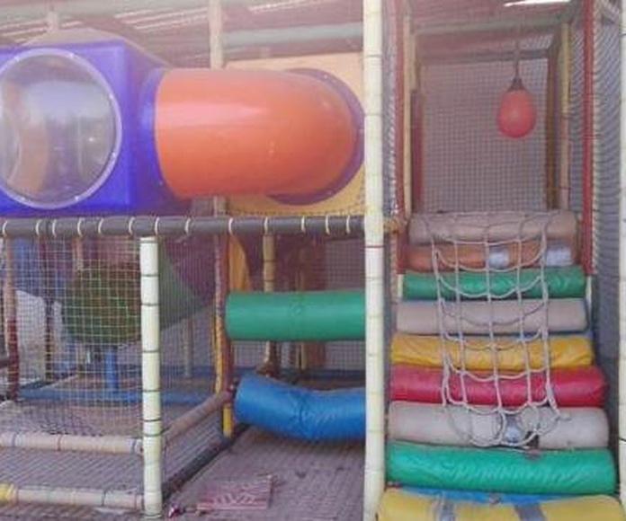 Reparación de parques infantiles ANTES