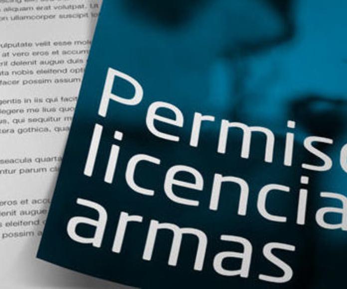 Psicotécnico permiso de armas, certificados médicos