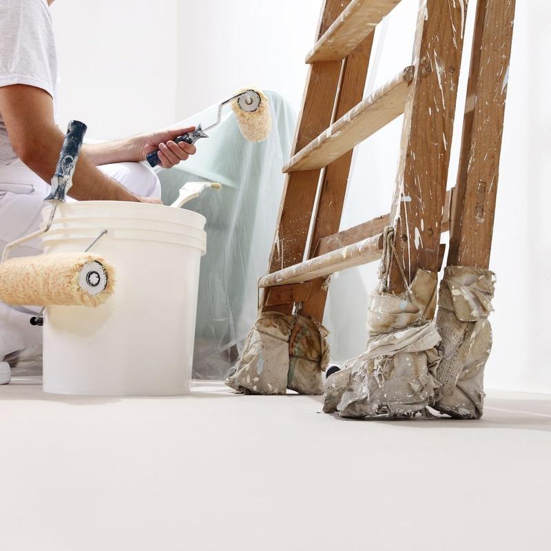 Pintura y pintura decorativa: Servicios de Servicios Técnicos Liderman