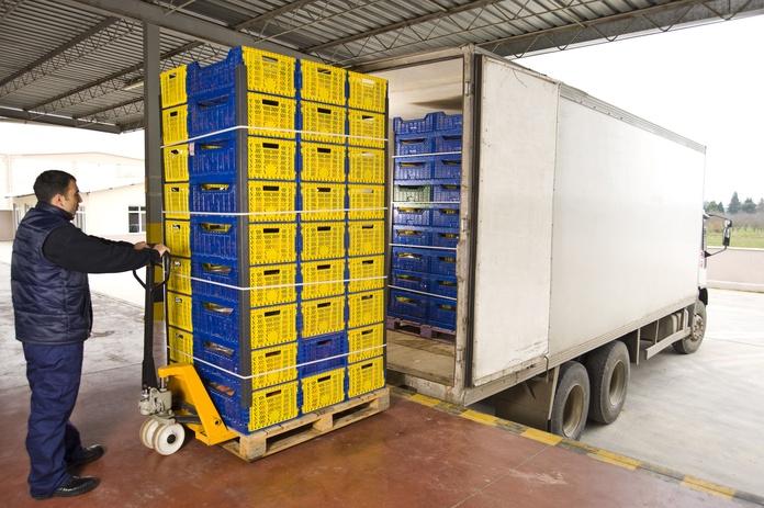 Transporte de alimentos: Servicios de Transportes Logística Marín