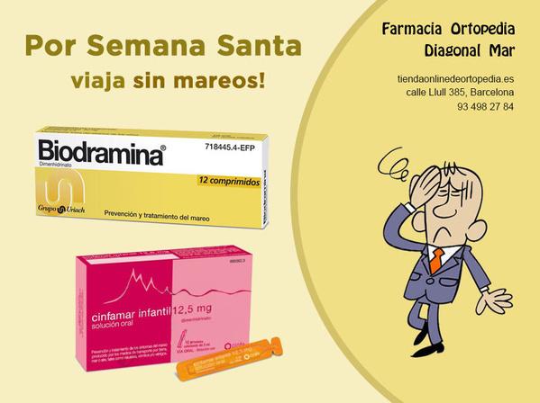 Biodramina y Cinfamar