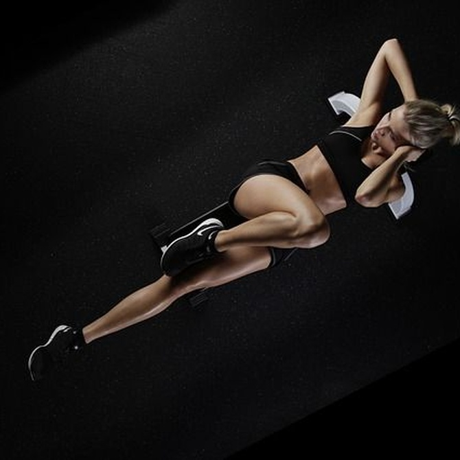 Hacer abdominales, una actividad física muy recomendable