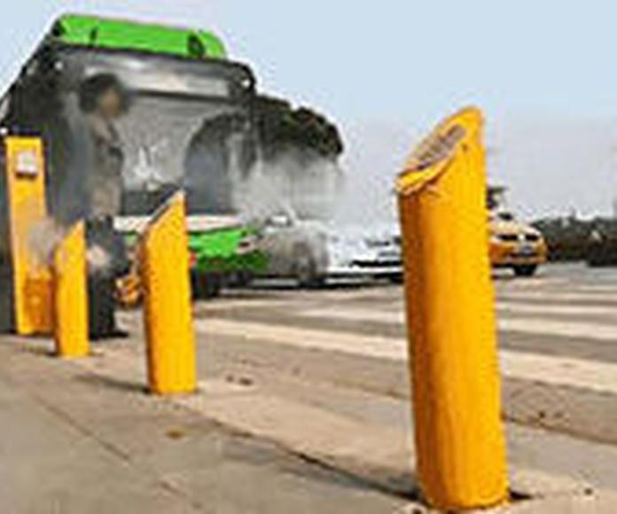 Un chorro de agua para castigar a los peatones que crucen mal (China)