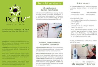 Información en euskera
