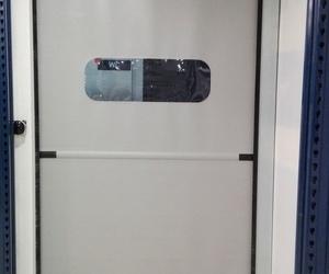 Puertas automáticas rápidas de lona pvc enrollables