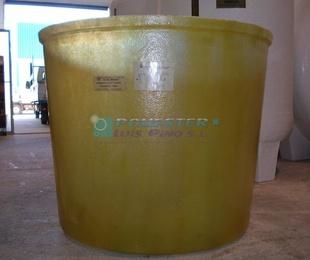 Depósitos para productos corrosivos