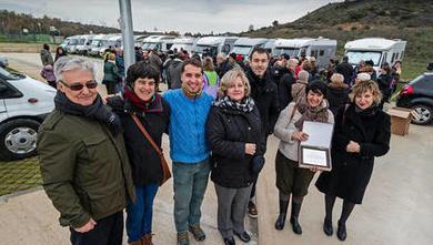 Tierra Estella se abre al turismo de autocaravana con áreas en Ayegui, Viana y Arróniz
