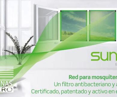 Mosquitera red  Sunox