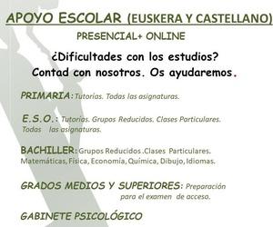 CLASES DE REFUERZO. CURSO 2020-2021