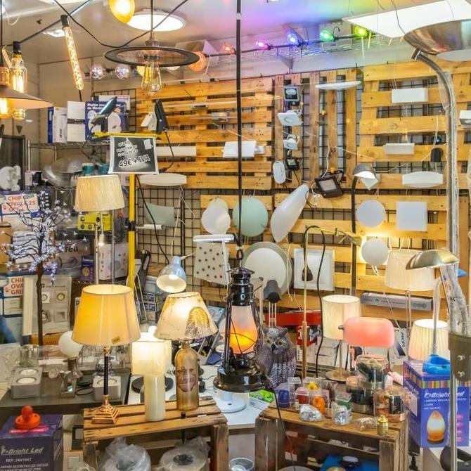 Tipos de lámparas para tu hogar