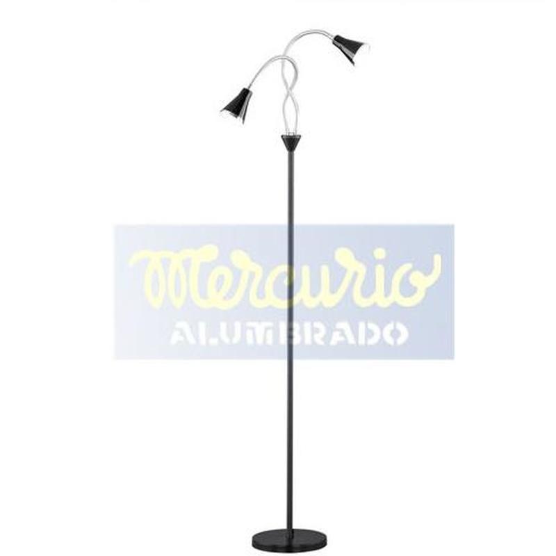 Lámpara de pie LED 2X5 W Gijón