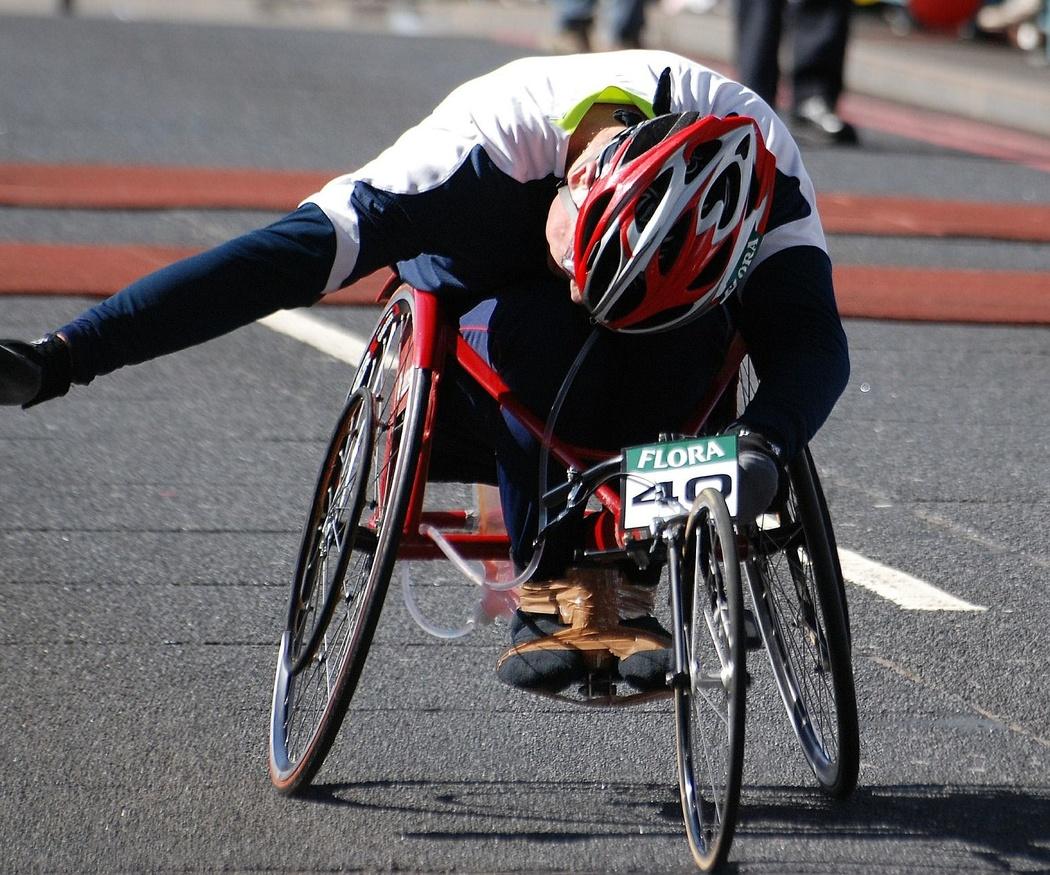Las sillas de ruedas para 'running'
