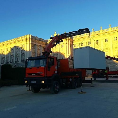 Grúas y transportes en Corredor del Henares | Transportes Juel