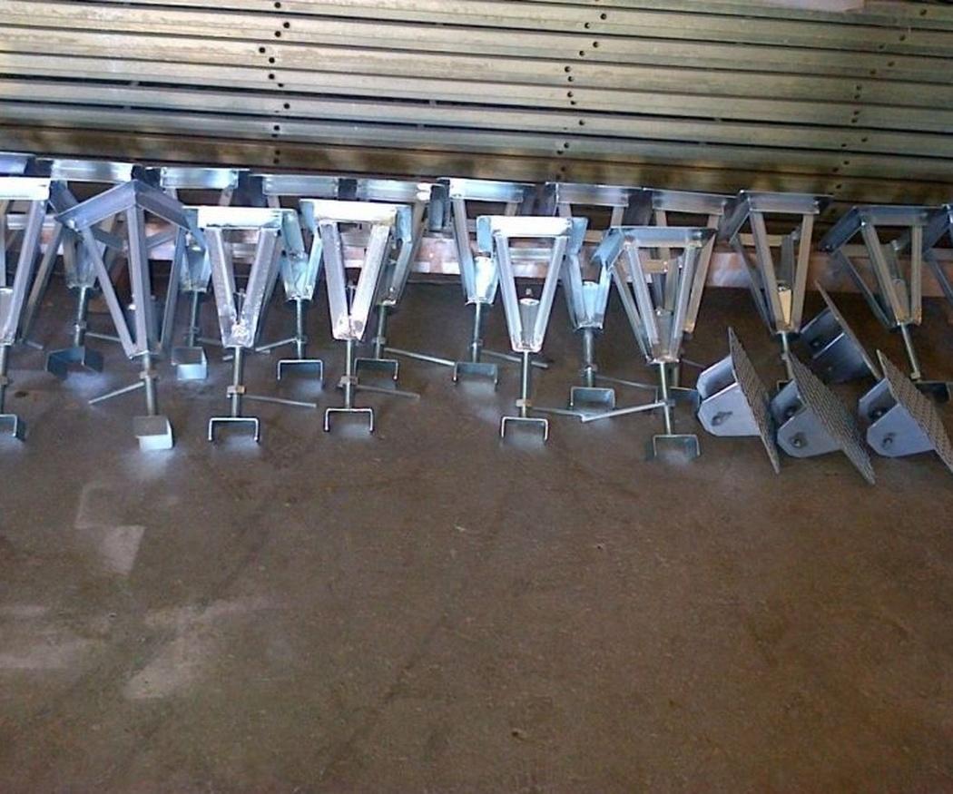 Usos de los accesorios galvanizados