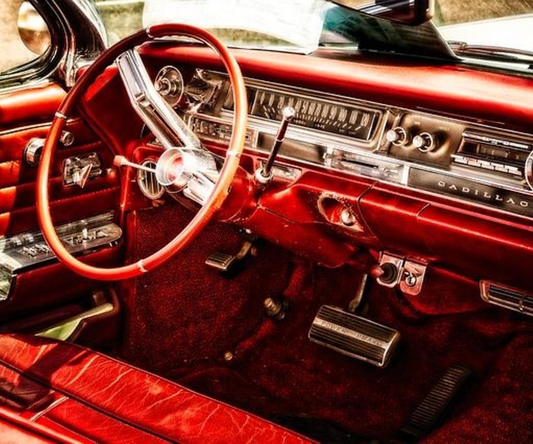 Las zonas más sucias de un coche