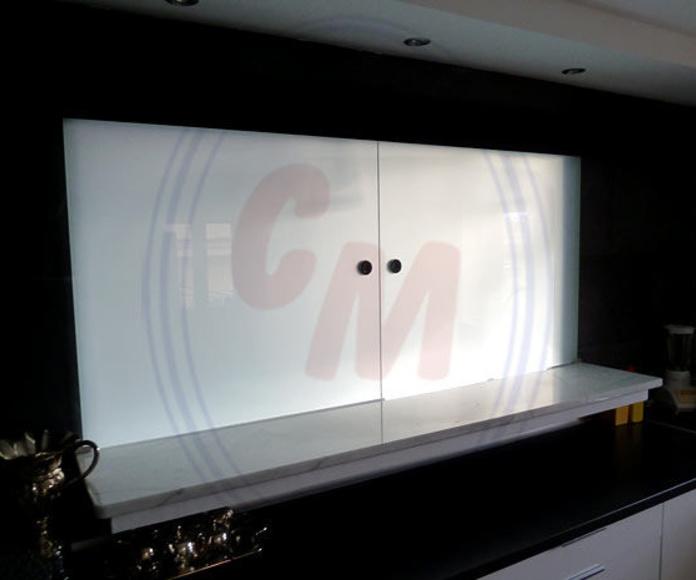 Divisiones en vidrio: Productos  de Cristalera Madrileña