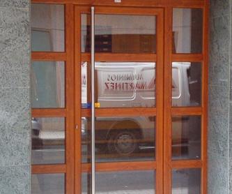 Carpintería hoja oculta: Productos de Aluminios Martinez