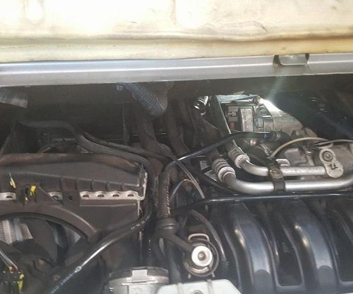 Trabajo en Smart 700, motor reforzado