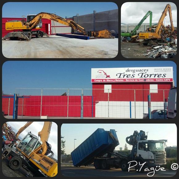 Desguace de maquinaria industrial: Servicios de Desguaces Tres Torres