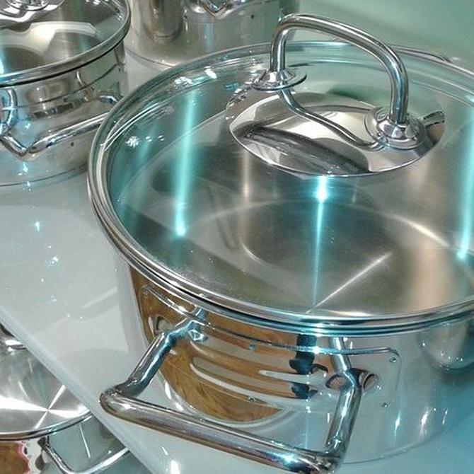 Consejos para el mantenimiento de los objetos de acero inoxidable