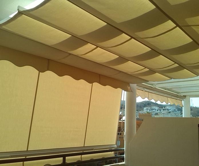 toldos para viviendas en Málaga