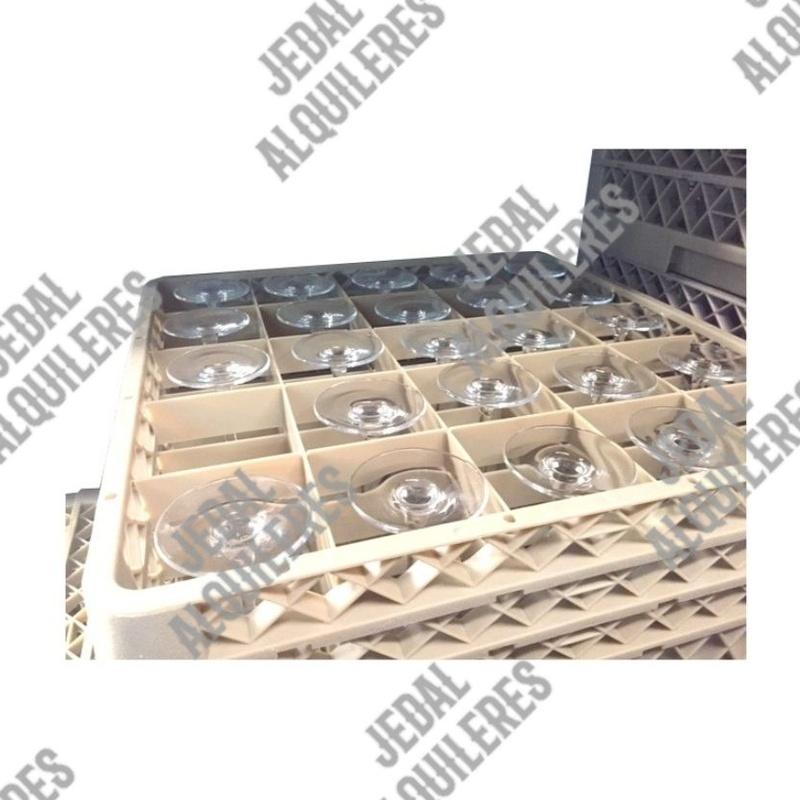 Cesta para vasos 49 compartimentos: Catálogo de Jedal Alquileres