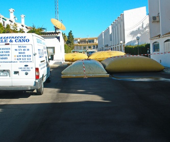 Localización de fugas de agua potable: Servicios de Pele & Cano Desatascos
