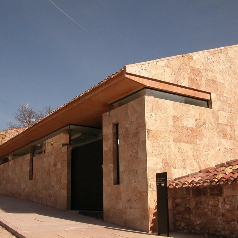 Edificio destinado a nueva portería del Monasterio de Yuso, San Millán de la Cogolla. Rehabilitación del antiguo Molino.