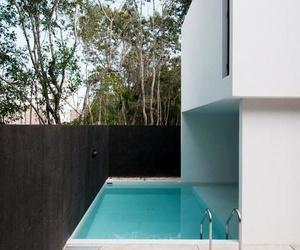 Casa modular con piscina