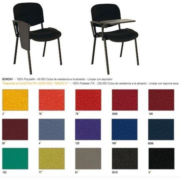 silla modelo 500 con brazo+pala color a elegir