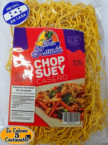 fideos chop suey : PRODUCTOS de La Cabaña 5 continentes
