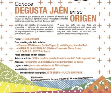 VISITA EN ORIGEN DEGUSTA JAÉN. 1-02-2020