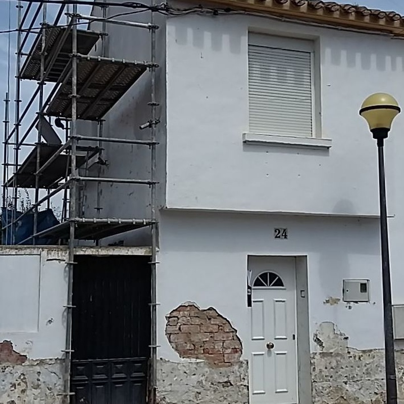 Rehabilitación de fachadas.: Trabajos de Bellavista Verticales 2014, S. L.