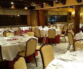 Volvemos próximamente.: Nuestra Carta y Menús de Restaurante Mesón Del Cid