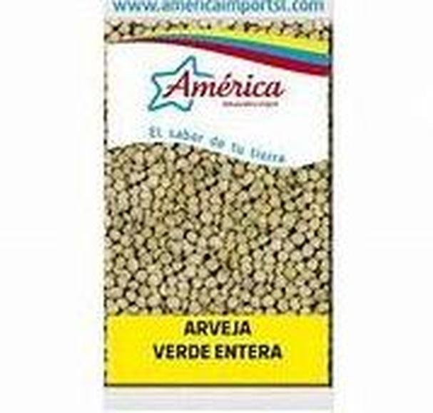 Arveja entera verde Amwerica 500 gr: PRODUCTOS de La Cabaña 5 continentes
