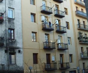 Fachada Calle Cipriano Larrañaga en  Despues