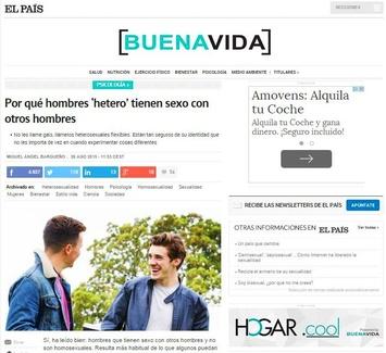 Nuevo colaboración en El País