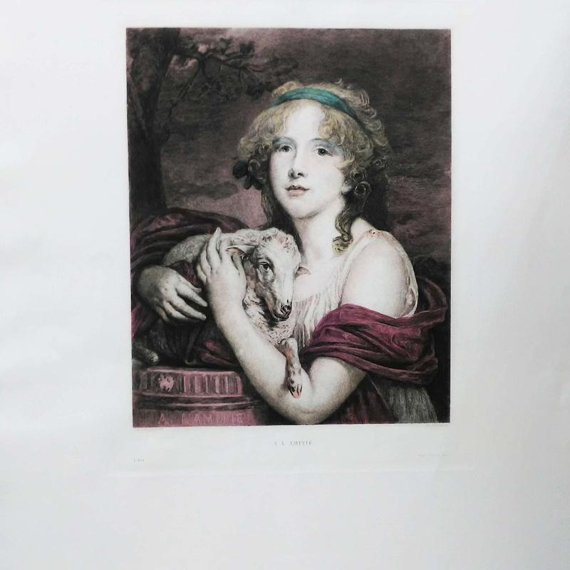 Obra gráfica original: catalogo de 4 INGLETES BRAVO MURILLO