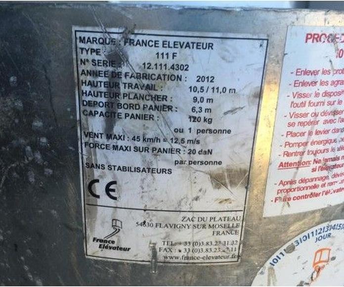 Ocasión: Furgoneta con cesta 11 metros : Vehículos de Iber Auctions