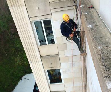 Empresa de trabajos verticales en Santander