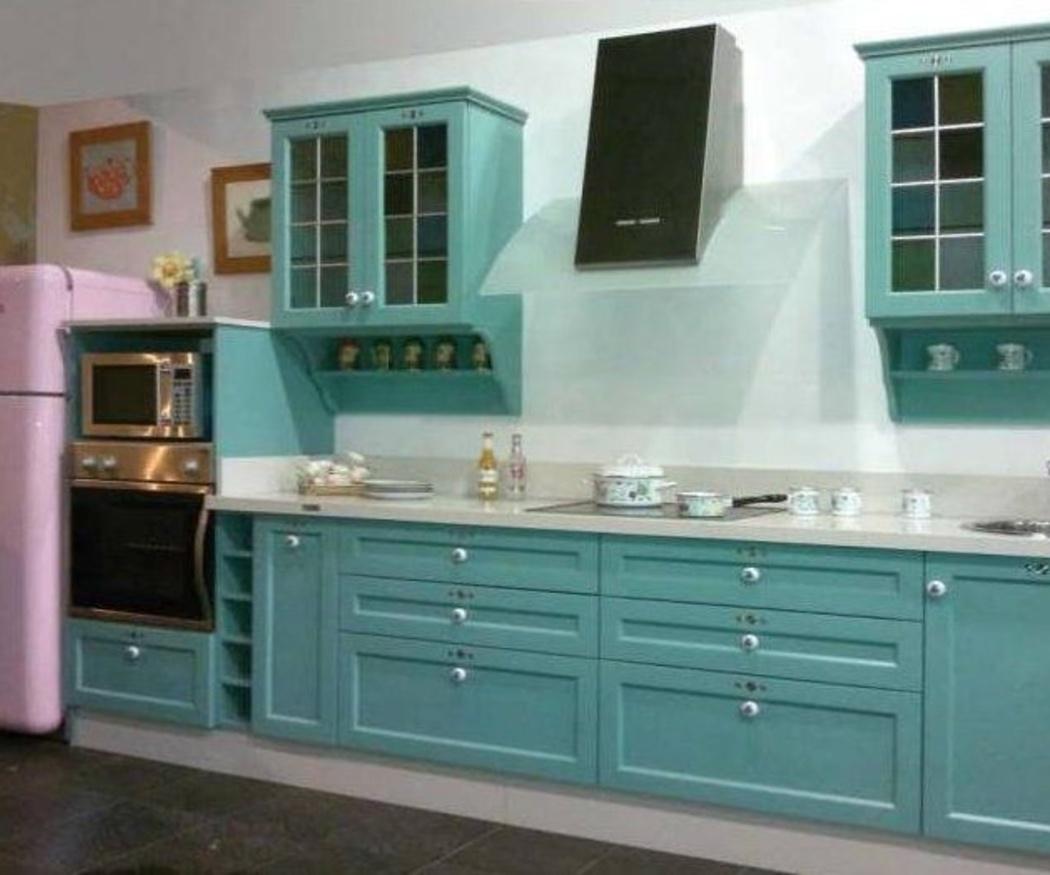 ¡Apuesta por una cocina vintage!