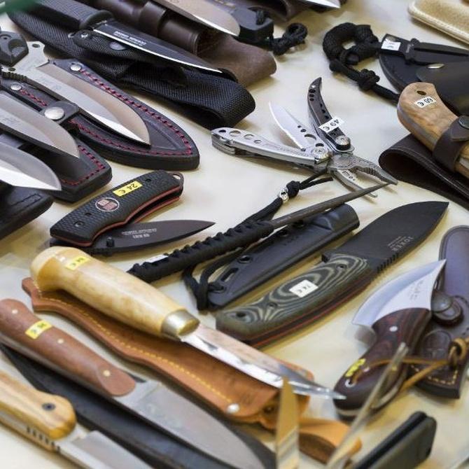 Si buscas cuchillos deportivos, atento a estos consejos