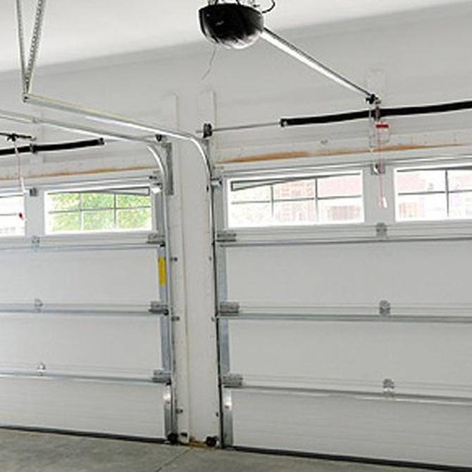 Funcionamiento de las puertas basculantes de garaje