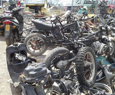 Desguace de motos